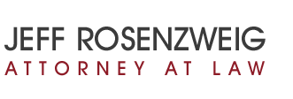 Jeff Rosenzweig Attorney at Law Header Logo
